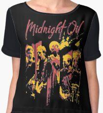 midnight oil band Women's Chiffon Top