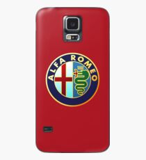 Alfa Romeo - Classic Car Logos Case/Skin for Samsung Galaxy