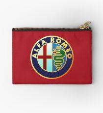 Alfa Romeo - Classic Car Logos Zipper Pouch