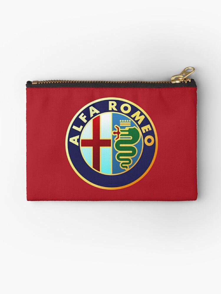 Alfa Romeo Classic Car Logos Studio Pouches By Brookestead