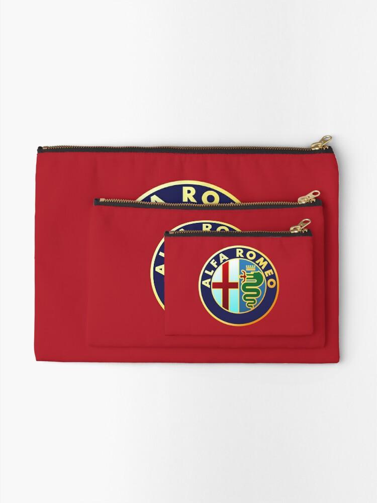 Vista alternativa de Bolsos de mano Alfa Romeo - Logos de coches clásicos