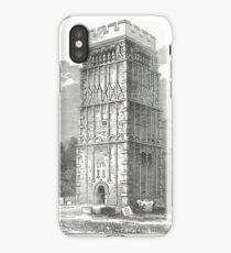 Tower of Earl's Barton Church, Northamptonshire, England iPhone Case/Skin