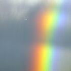 Rainbow and Cessna aircraft. by Ern Mainka