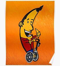 Mr. Banana Grabber Poster
