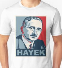 Camiseta ajustada Friedrich Hayek