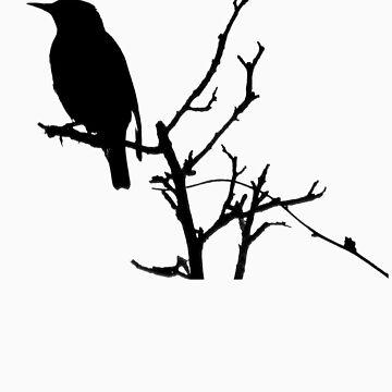 Little Birdy - Black by Kitsmumma