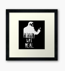 moriarty character Framed Print