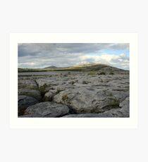 Mullaghmore mountain evening view Art Print