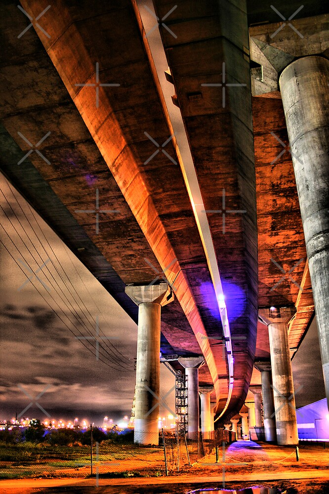 Under the Bolte Bridge HDR by JHP Unique and Beautiful Images