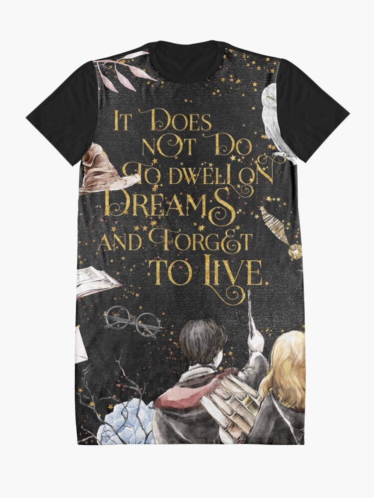 Alternate view of To Dwell on Dreams Graphic T-Shirt Dress