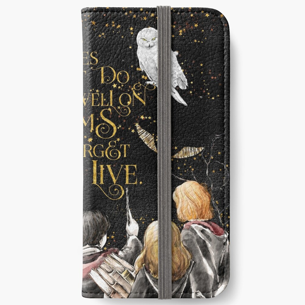 To Dwell on Dreams iPhone Wallet