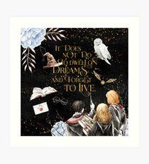To Dwell on Dreams Art Print