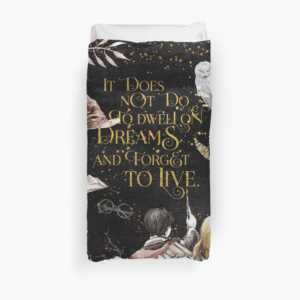 To Dwell on Dreams Duvet Cover