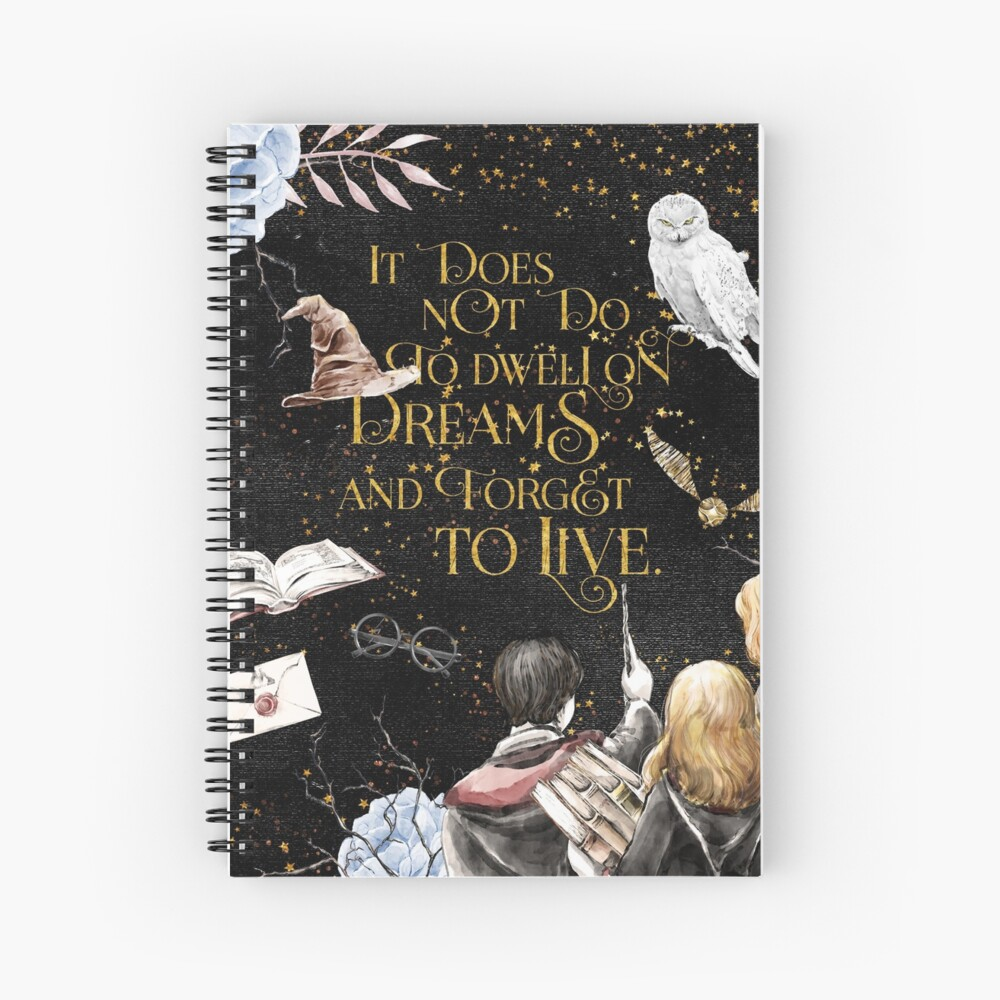 To Dwell on Dreams Spiral Notebook