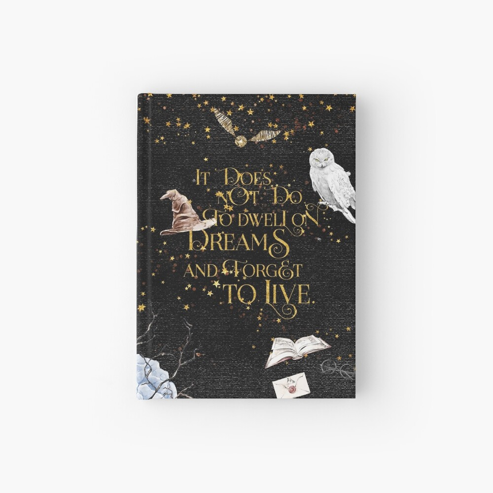To Dwell on Dreams Hardcover Journal