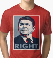 Ronald Reagan Tri-blend T-Shirt