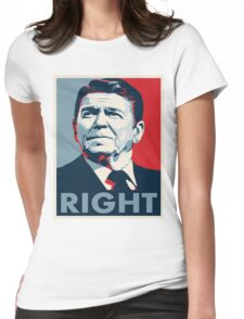 Ronald Reagan Womens Fitted T-Shirt