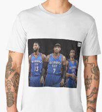 RUSSELL WESTBROOK PAUL GEORGE CARMELO ANTHONY OKC BIG THREE Men's Premium T-Shirt
