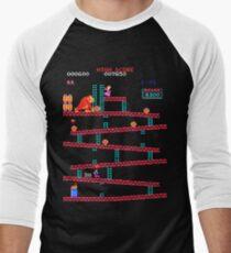 Arcade Kong Men's Baseball ¾ T-Shirt