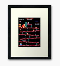 Arcade Kong Framed Print
