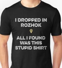 PUBG - Dropped in Rozhok T-Shirt