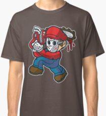 Cartoon Chainsaw Killer Classic T-Shirt