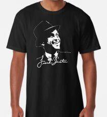Frank Sinatra - Portrait and signature Long T-Shirt