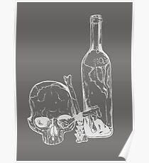Drink Yourself to Death - Beber Hasta Morir Inverted Poster