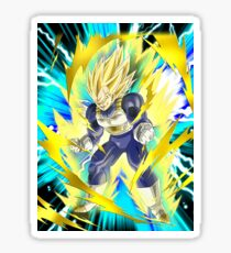 Dragon Ball Vegeta Super Sayan 2 Sticker