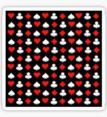 Poker Pattern Sticker