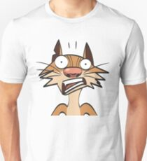 funny cartoon ginger cat. More in my gallery T-Shirt