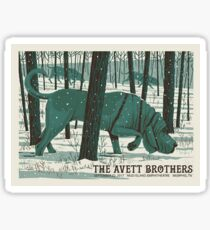 The Avett Brothers - September 22, 2017 Mud Island Amphitheatre Memphis. TN Sticker