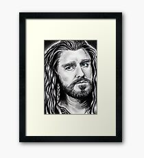 Richard Armitage as THORIN Framed Print