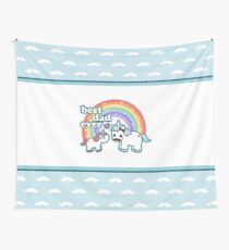 Best Unicorn Dad Wall Tapestry