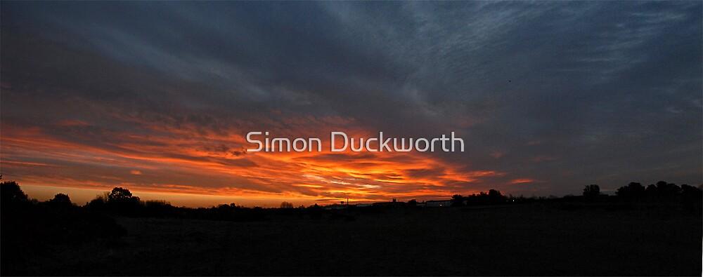 Bungay Sunrise by Simon Duckworth