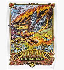 Dead & Company -  June 10, 2017 Folsom Field Boulder Colorado Poster