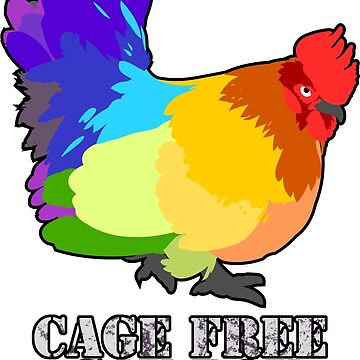 CAGE FREE GAY BOY Colorblock by tanzelt