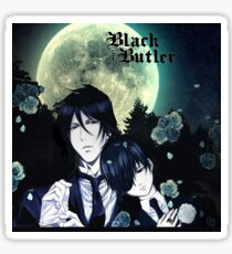 Black Butler night! Sticker