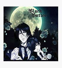 Black Butler night! Photographic Print