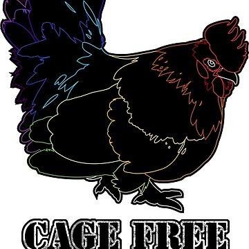 CAGE FREE GAY BOY Wireframe by tanzelt