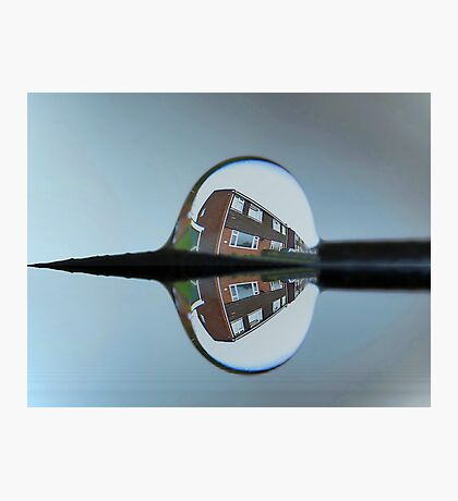 My House in a Dew Drop  [ edit ] Photographic Print