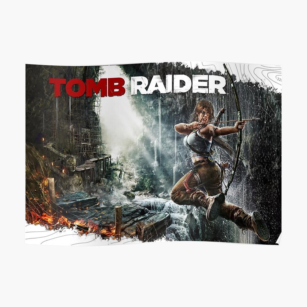 Lara Croft Grabräuber Poster