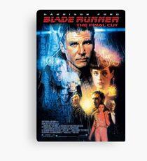 Bladerunner Movie Poster Canvas Print