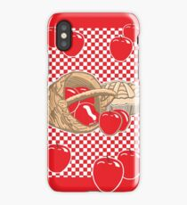 Basket of Red Delicious Apples and Pie iPhone Case