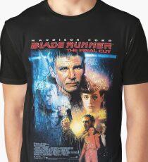 Bladerunner Movie Poster Graphic T-Shirt