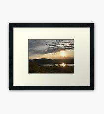 Cadillac Mountain Sunset 1 Framed Print