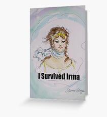 I Survived Irma Greeting Card