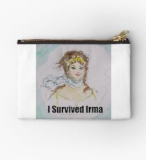 I Survived Irma Zipper Pouch