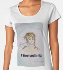 I Survived Irma Premium Scoop T-Shirt