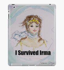 I Survived Irma iPad Case/Skin
